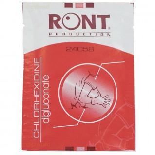 Partij van 10 chloorhexidine handdoeken Sporti France
