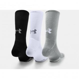 Set van 3 paar hoge sokken Under Armour HeatGear® Crew