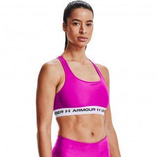 Armour Mid Crossback Sportbeha voor dames