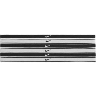 Set van 6 haarelastieken Nike Swoosh tipped