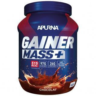 Pot Apurna Gainer Mass Plus - Chocolade - 1,1 Kg