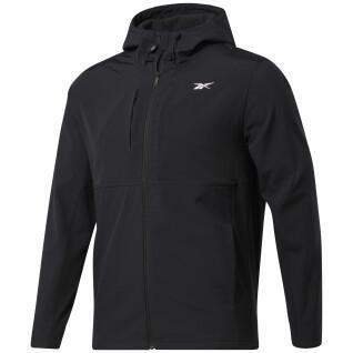 Hooded sweatshirt Reebok Thermowarm+Graphene Zip-Up