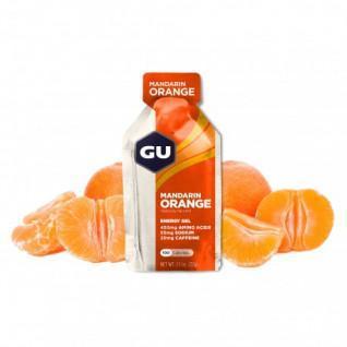 Set van 24 gels Gu Energy mandarine/orange