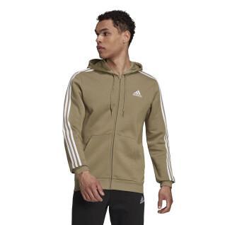 Hoodie adidas Essentials Fleece 3-Stripes Full-Zip