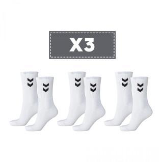 Set van 3 sokken Hummel Basic